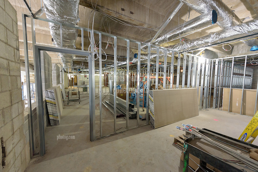 Central High School Bridgeport CT Expansion & Renovate as New. State of CT Project # 015-0174. One of 81 Photographs of Progress Submission 16, 01 June 2016