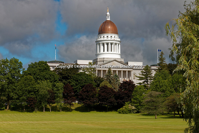 Maine State House, Augusta, Maine, USA