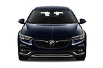 Car photography straight front view of a 2019 Buick Regal TourX Essence 5 Door Wagon
