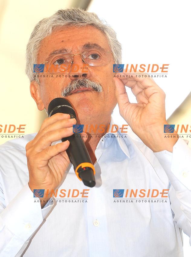 Massimo D'Alema <br /> Genova 07-09-2013 Festa Nazionale Partito Democratico <br /> Democratic Party National Meeting <br /> Photo  Genova Foto /Insidefoto