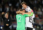 Germany's Yannick Gerhardt celebrates during the UEFA Under 21 Final at the Stadion Cracovia in Krakow. Picture date 30th June 2017. Picture credit should read: David Klein/Sportimage