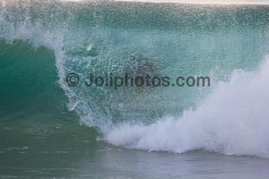 RODRIGO DORNELLES (BRA) surfing at Off The Wall-Backdoor, North Shore of Oahu, Hawaii. Photo: joliphotos.com