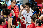 China Coach An Jiajie during the FIVB Volleyball World Grand Prix match between China vs Japan on July 21, 2017 in Hong Kong, China. Photo by Marcio Rodrigo Machado / Power Sport Images