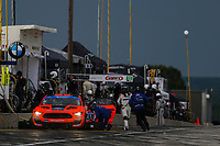 #41 PF Racing Ford Mustang GT4, GS: Jeff Courtney, Fred Roberts, Pit Stop