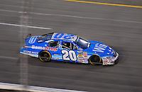 May 1, 2009; Richmond, VA, USA; NASCAR Nationwide Series driver Joey Logano during the Lipton Tea 250 at the Richmond International Raceway. Mandatory Credit: Mark J. Rebilas-