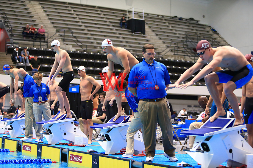 The University of Southern California men's swimming and diving team compete at the 2017 NCAA National Swimming and Diving Championships in Indianapolis, IN. March 23, 2017<br /> (Photo by Walt Middleton Photography 2017)