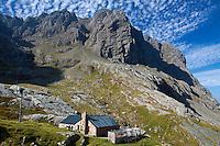 Ben Nevis North Face and the Charles Inglis Clark Memorial Hut (CIC Hut), Lochaber
