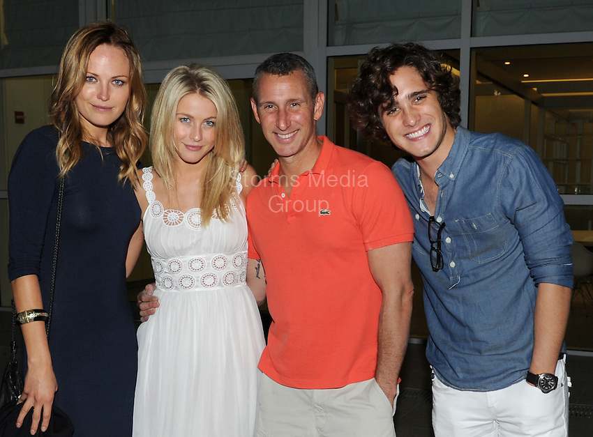 SMG_EXC_Malin Akerman_Julianne Hough_Adam Shankman_Diego Boneta_Birthday_051311_61.JPG_EXCLUSIVE COVERAGE<br /> <br /> MIAMI BEACH, FL - MAY 13: (EXCLUSIVE COVERAGE)  The cast of the movie, Rock of Ages, (now in production in Miami Florida) were all seen together celebrating actress Malin Akerman&rsquo;s birthday at a local restaurant.  Seen here is Director Adam Shankman along with actress Julianne Hough, actor Diego Boneta, and of course the birthday girl actress Malin Akerman . on May 13, 2011 in Miami Beach, Florida.  (Photo By Storms Media Group)<br /> <br /> People:  Malin Akerman_Julianne Hough_Adam Shankman_Diego Boneta<br /> <br /> Must call if interested<br /> Michael Storms<br /> Storms Media Group Inc.<br /> 305-632-3400 - Cell<br /> 305-513-5783 - Fax<br /> MikeStorm@aol.com