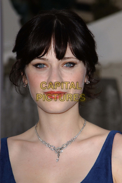 ZOOEY DESCHANEL .A The Placido Domingo & Friends Concert and Gala held at The Dorothy Chandler Pavilion in downtown L.A..headshot, portrait.www.capitalpictures.com.sales@capitalpictures.com.©Capital Pictures