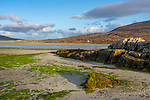 Isle of Lewis and Harris, Scotland: Low tide on Luskentyre beach on South Harris Island