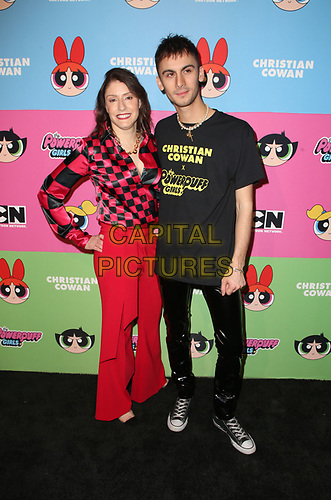 LOS ANGELES, CA - MARCH 8: Christina Miller, Designer Christian Cowan, at Christian Cowan x The Powerpuff Girls_Show at City Market Social House in Los Angeles, California on March 8, 2019.   <br /> CAP/MPI/SAD<br /> ©SAD/MPI/Capital Pictures