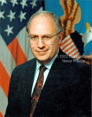 Official portrait of the 17th United States Secretary of Defense, Richard B. (Dick) Cheney taken March 28, 1989.<br /> Mandatory Credit: Russell Roderer / DoD via CNP