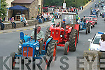 Tractors at the vintage rally on Sunday..