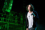 Chris Cornell of Soundgarden performs during the 2013 Rock On The Range festival at Columbus Crew Stadium in Columbus, Ohio.