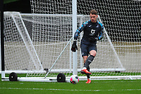 Josh Gould of Swansea City u23s' during the Premier League 2 Division Two match between Swansea City u23s and Middlesbrough u23s at Swansea City AFC Training Academy  in Swansea, Wales, UK. Monday 13 January 2020.
