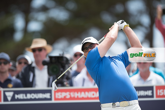 Matthew Stieger (AUS) during the final round of the VIC Open, 13th Beech, Barwon Heads, Victoria, Australia. 09/02/2019.<br /> Picture Anthony Powter / Golffile.ie<br /> <br /> All photo usage must carry mandatory copyright credit (&copy; Golffile | Anthony Powter)