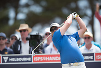 Matthew Stieger (AUS) during the final round of the VIC Open, 13th Beech, Barwon Heads, Victoria, Australia. 09/02/2019.<br /> Picture Anthony Powter / Golffile.ie<br /> <br /> All photo usage must carry mandatory copyright credit (© Golffile | Anthony Powter)