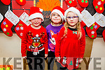 l-r  Ryan Nix, Holly Foran and Holly Hallorangetting ready for the Scoil Eoin Balloonagh Christmas Concert on Monday