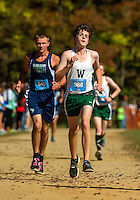 Photography coverage of the Woodlawn School's Men's and Women's Varsity Cross Country Teams sweep of the of the NCISAA1A Championships Friday afternoon October 30, 2015 at Mc Alpine Park in in Charlotte, NC.<br /> <br /> Charlotte Photographer - PatrickSchneiderPhoto.com