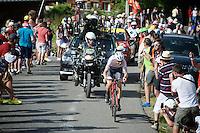 Bauke Mollema (NLD/Trek-Segafredo)<br /> <br /> Stage 18 (ITT) - Sallanches › Megève (17km)<br /> 103rd Tour de France 2016