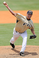 17 May 2008: Florida International starting pitcher Steven Stewart (34) throws in the third inning of the game against Florida Atlantic at University Park Stadium in Miami, Florida.