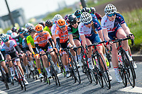 Picture by Alex Whitehead/SWpix.com - 03/05/2018 - Cycling - 2018 Asda Women's Tour de Yorkshire - Stage 1: Beverley to Doncaster - Abbie Dentus and Rhona Callander of Great Britain.