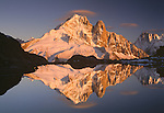 Aiguille du Dru in Sunset