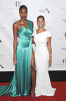 NEW YORK, NY - OCTOBER 20: Damaris Lewis and Misty Copeland attends the American Ballet Theater 2016 Fall Gala on October 20, 2016 at David H. Koch Theater at Lincoln Center in New York City. Photo by John Palmer/MediaPunch