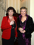 Margaret O'Brien and Martina Browne pictured at the Ardee Traders awards night in Darver Castle. Photo:Colin Bell/pressphotos.ie