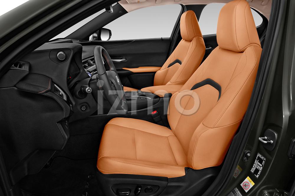 Front seat view of a 2019 Lexus UX Privilege-Line 5 Door SUV front seat car photos