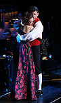 "Laura Osnes and Tony Yazbeck performing during the MCP Production of ""The Scarlet Pimpernel"" Concert at the David Geffen Hall on February 18, 2019 in New York City."