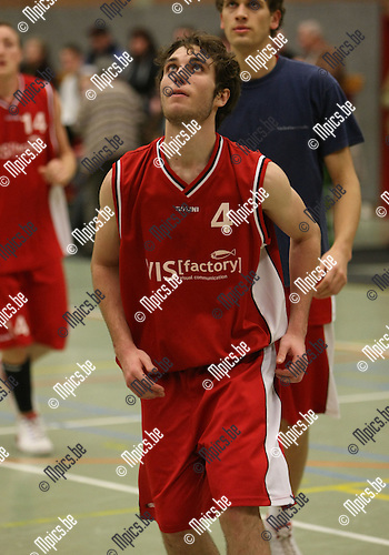 2008-12-20 / Basketbal / Gembo / W. Van Lent..Foto: Maarten Straetemans (SMB)
