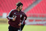 20 November 2010: Kosuke Kimura (JPN). Colorado Rapids held a practice at BMO Field in Toronto, Ontario, Canada as part of their preparations for MLS Cup 2010, Major League Soccer's championship game.