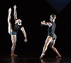 In The Spirit of Diaghilev<br /> world premier<br /> at Sadler's Wells, London, Great Britain<br /> rehearsal<br /> 13th October 2009 <br />  <br /> Wayne McGregor / Random Dance: Dyad 1909 <br /> <br /> <br /> <br /> <br /> Photograph by Elliott Franks