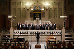 20.12.2015, Berlin Synagoge Rykestraße. Grand Final Concert of all choirs at the Louis Lewandowsky Festival for synagogal music. The Moscow Male Jewish Cappella (Photo by Gregor Zielke)