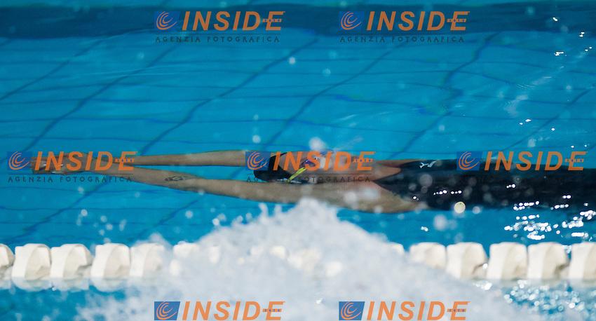 Federica Pellegrini .3^ Trofeo Citta' di Milano .Milano 8 - 10 Marzo 2013.Giorno 01.Photo Giorgio Perottino/Deepbluemedia/Insidefoto