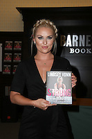 LOS ANGELES, CA - OCTOBER 10: Lindsey Vonn signs copies of her new book 'Strong Is The New Beautiful: Embrace Your Natural Beauty, Eat Clean, and Harness Your Power' at Barnes & Noble at The Grove on October 10, 2016 in Los Angeles, California. (Credit: Parisa Afsahi/MediaPunch).