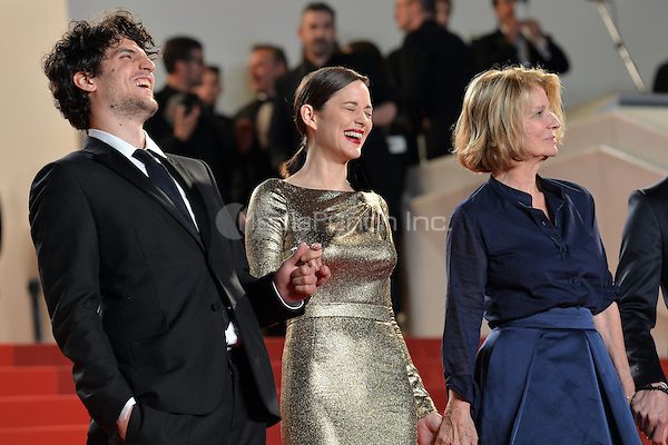 Louis Garrel, Marion Cotillard and Nicole Garcia at the &laquo;Mal de Pierres` screening during The 69th Annual Cannes Film Festival on May 15, 2016 in Cannes, France.<br /> CAP/LAF<br /> &copy;Lafitte/Capital Pictures<br /> Louis Garrel, Marion Cotillard and Nicole Garcia at the &acute;Mal de Pierres` screening during The 69th Annual Cannes Film Festival on May 15, 2016 in Cannes, France.<br /> CAP/LAF<br /> &copy;Lafitte/Capital Pictures /MediaPunch ***NORTH AND SOUTH AMERICA ONLY***