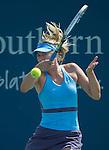 Maria Sharapova (RUS) defeats Anastasia Pavlyuchenkova (RUS) 6-4, 7-6