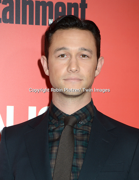 "Writer/ Director and Star Joseph Gordon-Levitt attends the ""Don Jon"" New York Movie Premiere on September 12, 2013 at the SVA Theatre in New York City."
