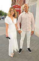 Katie Piper and Richard James Sutton at the Syco summer party, Victoria and Albert Museum, Cromwell Road, London, England, UK, on Thursday 04th July 2019.<br /> CAP/CAN<br /> ©CAN/Capital Pictures