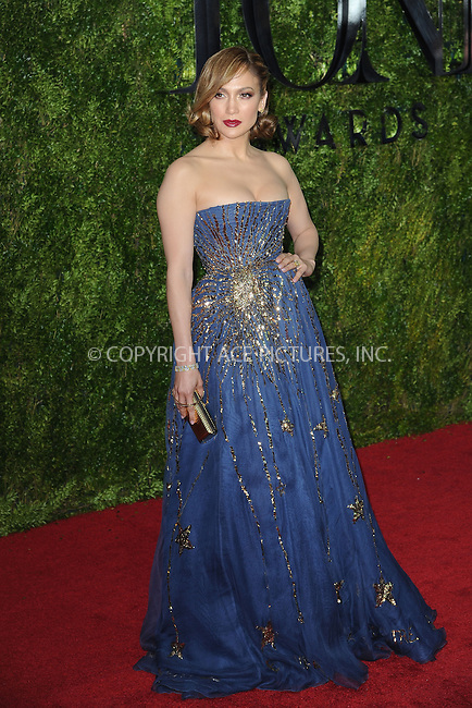 WWW.ACEPIXS.COM<br /> June 7, 2015 New York City<br /> <br /> Jennifer Lopez attending American Theatre Wing's 69th Annual Tony Awards at Radio City Music Hall on June 7, 2015 in New York City.<br /> <br /> Please byline: Kristin Callahan/ACE Pictures<br /> Tel: (646) 769 0430<br /> e-mail: info@acepixs.com<br /> web: http://www.acepixs.com