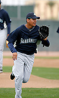 Felix Hernandez -  Seattle Mariners - 2009 spring training.Photo by:  Bill Mitchell/Four Seam Images
