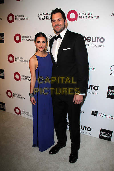 WEST HOLLYWOOD, CA - March 02: Josie Loren, Matt Leinart at the 22nd Annual Elton John AIDS Foundation Oscar Viewing Party, Private Location, West Hollywood,  March 02, 2014.  <br /> CAP/MPI/JO<br /> &copy;Janice Ogata/MediaPunch/Capital Pictures