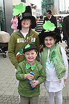 Ciara, Conor and Aisling Moroney at the 2010 St Patrick's Day Duck Race...Photo NEWSFILE/Jenny Matthews.(Photo credit should read Jenny Matthews/NEWSFILE)....This Picture has been sent you under the condtions enclosed by:.Newsfile Ltd..The Studio,.Millmount Abbey,.Drogheda,.Co Meath..Ireland..Tel: +353(0)41-9871240.Fax: +353(0)41-9871260.GSM: +353(0)86-2500958.email: pictures@newsfile.ie.www.newsfile.ie.FTP: 193.120.102.198.