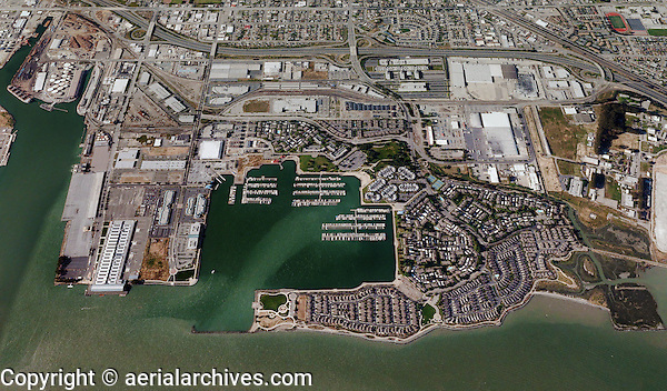 aerial photograph Port of Richmond California  Aerial Archives