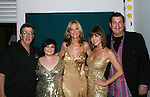 """Creators of Diva show Mark Stevens (L) and Marvin Segel (R) pose with OLTL - Kathy Brier, Kassie DePaiva, AMC - Bobbie Eakes - The Divas of Daytime TV (three great soap stars, two great ABC soaps and one great show) - """"A Great Night of Music and Comedy"""" on November 7, 2008 at the Mishler Theatre, Altoona, PA with meet and greet, autographs and photo ops. Portion of proceeds to benefit Altoona Mirror Season of Sharing. Mid-Life Productions Inc in association with Creative Entertainment presents this great show. (Photo by Sue Coflin/Max Photos)"""