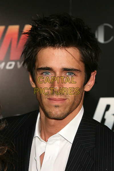"BRANDON BEEMER.""Redline"" Los Angeles Premiere at Grauman's Chinese Theatre, Hollywood, California, USA, 12 April 2007..portrait headshot.CAP/ADM/BP.©Byron Purvis/AdMedia/Capital Pictures."