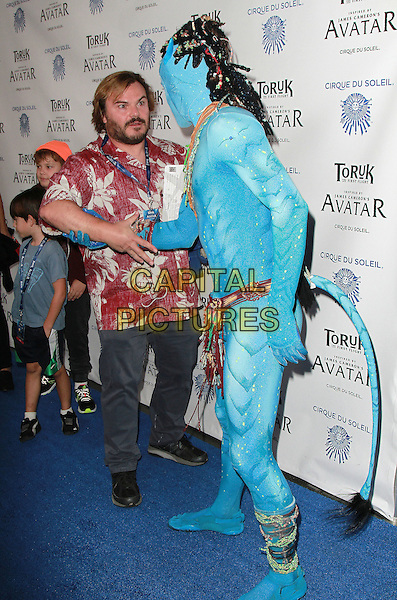 11 November 2016 - Los Angeles, California - Jack Black. Cirque du Soleil &quot;Toruk - The First Flight&quot; Opening Night held at Staples Center. <br /> CAP/ADM/PMA<br /> &copy;PMA/ADM/Capital Pictures