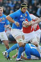 Quintin Geldenhuys (Italia)<br /> Italia vs Galles<br /> RBS 6 Nations Rugby Championship 2011<br /> Stadio Flaminio;<br /> Roma, 26/02/2011<br /> Photo Antonietta Baldassarre Insidefoto